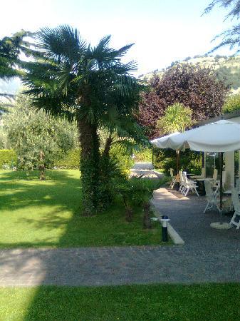Hotel Villa Verde: parco-giardino hotel