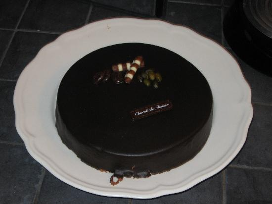 Boogaard's Bed and Breakfast : That chocolate mousse cake