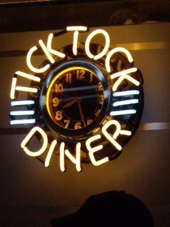 Tick Tock Diner clock - Picture of Tick Tock Diner, New York