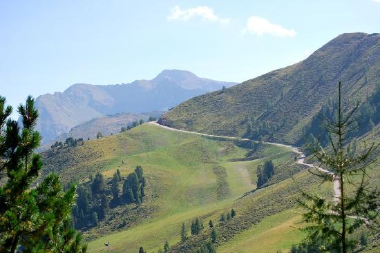 Moena, Itália: Inizio sentiero 214