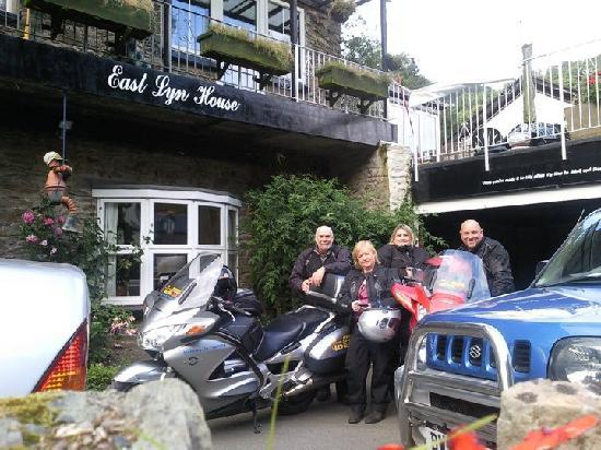 ‪‪East Lyn House Hotel‬: Biker friendly garage parking‬