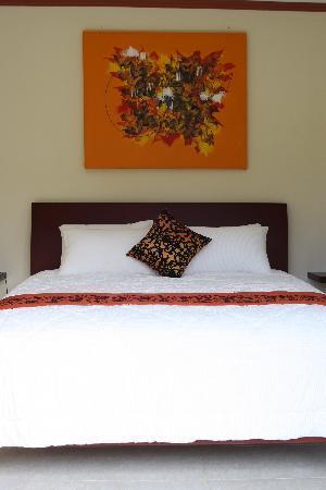 Imah Kita: une chambre
