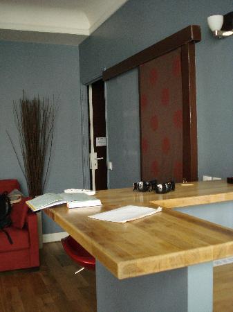 Paiko Apart' Hotel: la barra, muy práctica para comer