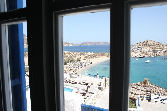 Kalafatis, Grecia: vista dalla mia stanza dell'anastasia