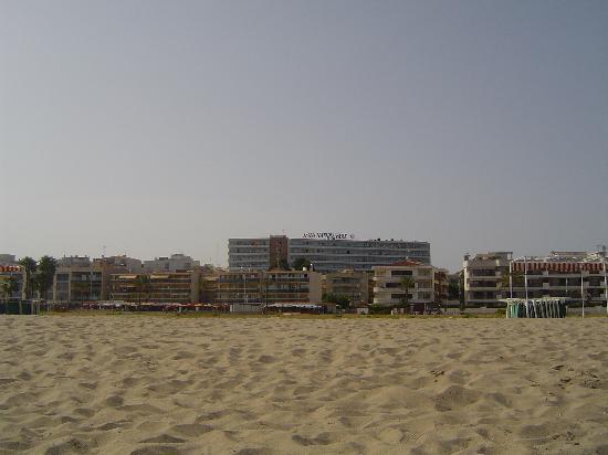 Hotel Natura Park : hotel visto desde la playa