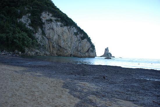 Sensimar Agios Gordios : La plage