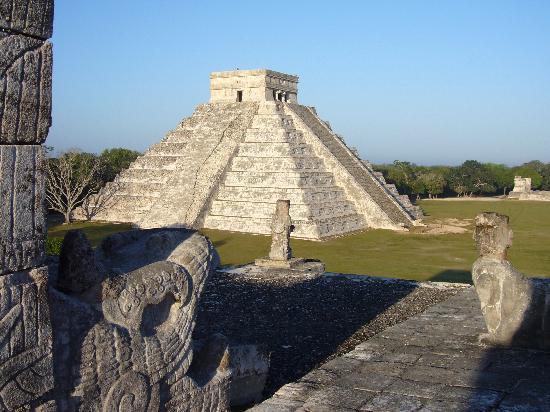 Chichén Itzá: El Castillo estructura principal