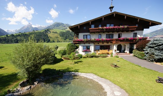 Pension St. Georg: Sommer - summer in Kaprun