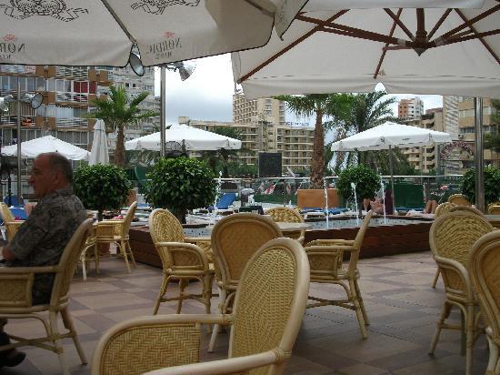 Secret Fountain Roof Bar Garden: Relaxing atmosphere