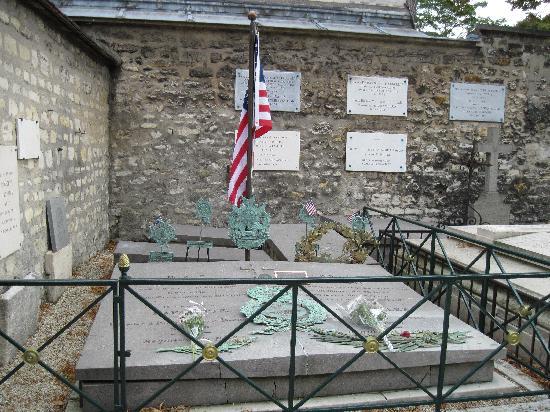 Cimetière de Picpus : The Lafayette's graves