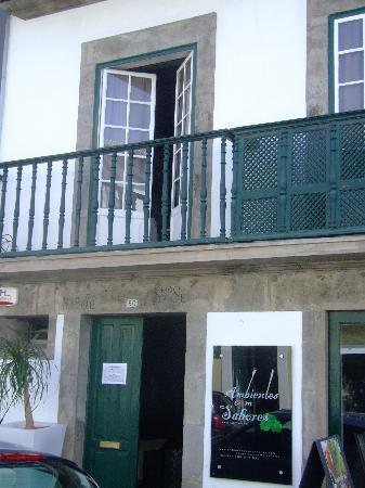Ambientes com Sabores: the front door