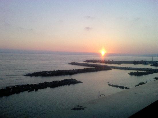 Hotel Ristorante Riviera: Tramonto visto dall'hotel