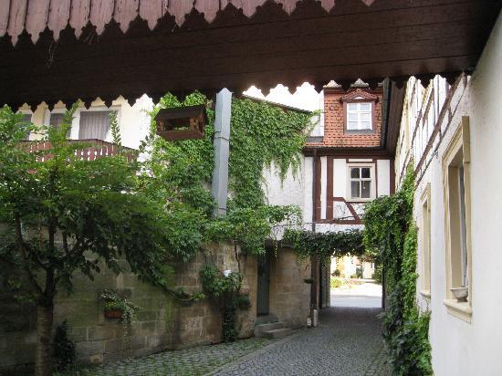 Scheßlitz, Deutschland: Innenhof