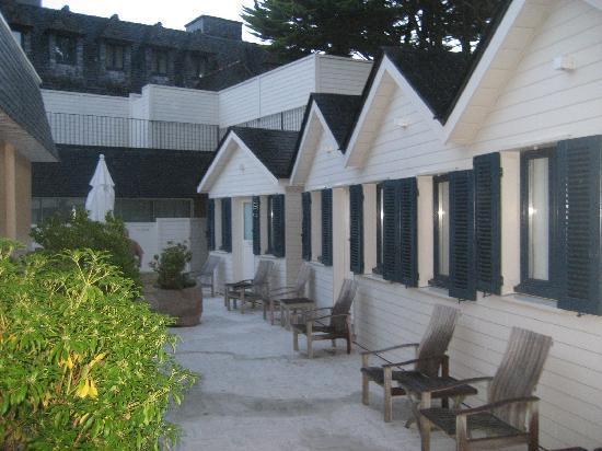 Hôtel Brittany & Spa : le petit patio pour la détente
