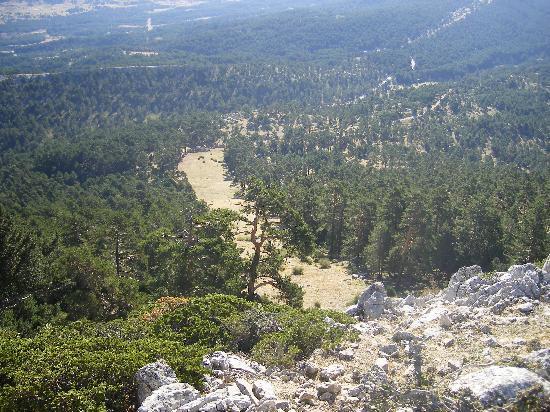 Hostal Bayo : pista de esqui de la mogorrita, pico mas alto de cuenca
