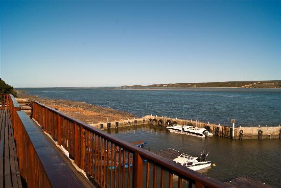 The Breede River Resort and Fishing Lodge: View of the harbour