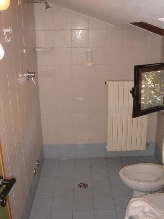 Manerba del Garda, Italia: Bad mit Dusche