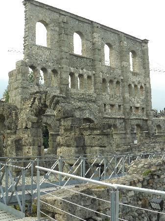 Aosta, Italien: teatro romano