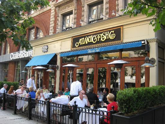 Atlantic Fish Company Co Terrace On Boylston Street Boston