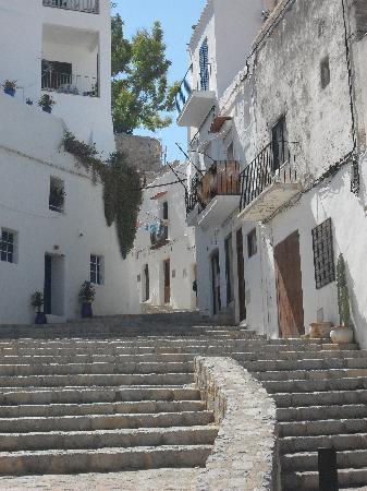 Ibiza Stadt, Spanien: D'Alt Villa, Ibiza Town