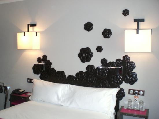 Hôtel Les Jardins de la Villa & Spa : Bed