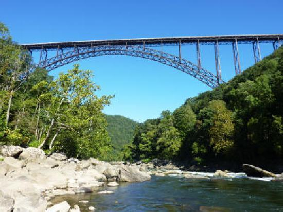 Midland Trail National Scenic Byway : New River Gorge Bridge
