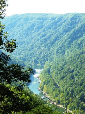 New River Gorge Bridge: View from the top
