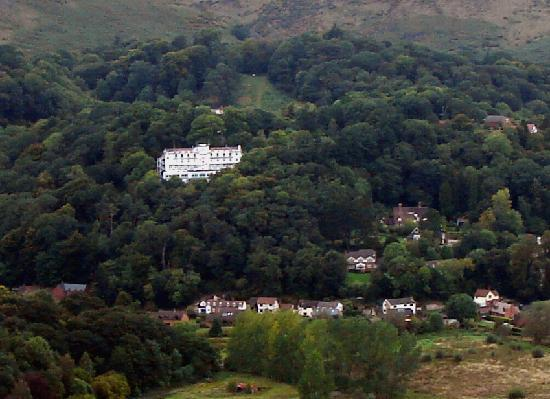 The Longmynd : Long Mynd Hotel viewed from the SE