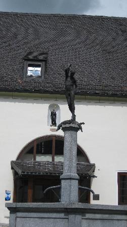 Michaelbeuern : la fontana di Michael