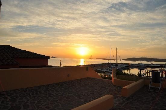 Le Sirene Hotel : sonnenaufgang