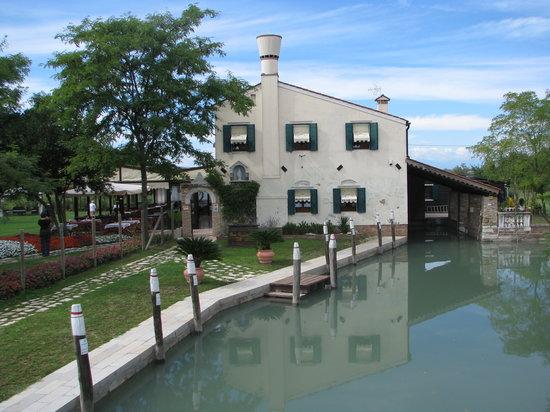 Torcello, Italia: entree principale du restaurant