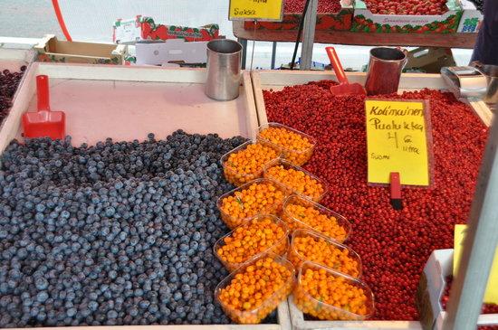 Helsinki, Finlandiya: Auf dem Markt