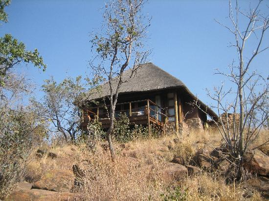 Mhondoro Game Lodge: Our personal lodge