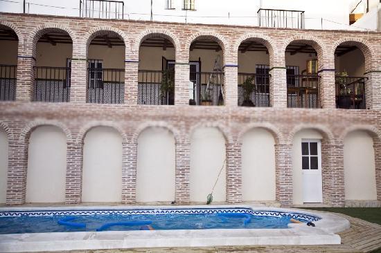 Casa Rural Sidonia : Piscina