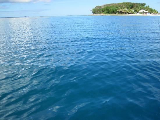 Tradewinds Villas: View of Hideaway Island