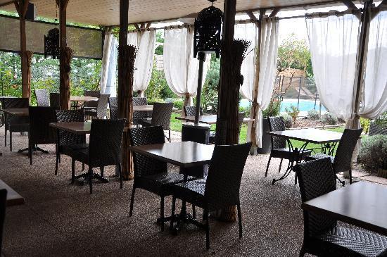 Restaurant Le Christina : La Terrasse