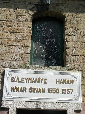 Suleymaniye Hamami : entrada