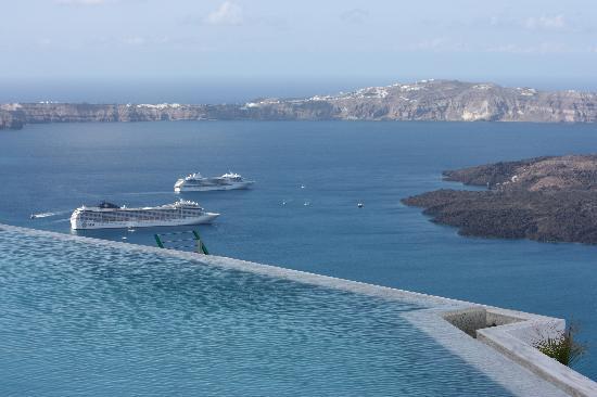 Grace Santorini Hotel: Piscine