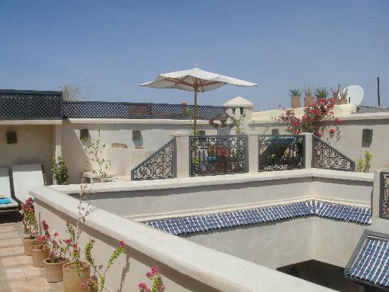 Riad Papillon : Roof Terrace
