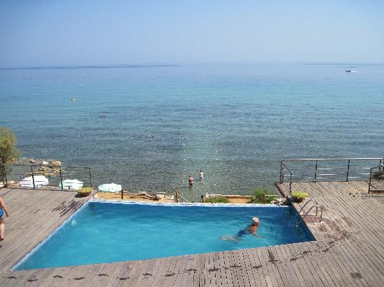Tsamis Zante: Seconda piscina con discesa a mare
