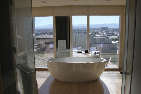 Mandarin Oriental, Las Vegas: The Bath!