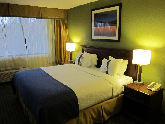 Holiday Inn Rockland: Hotel room - king bed