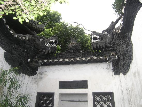 Shanghai, China: dragon madarin hu