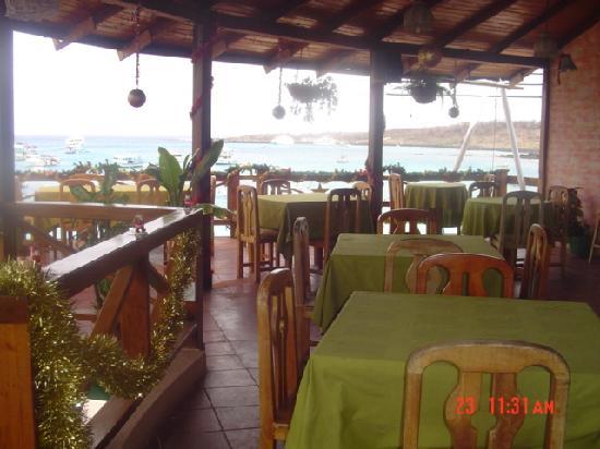 San Cristobal, Ecuador: exelente restaurante y exeente comida