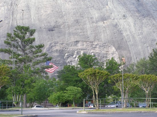Lasershow Spectacular at Stone Mountain Park: Vista de Stone Mountain