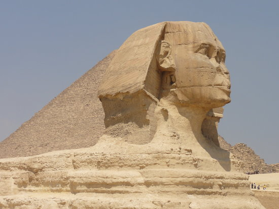 Alexandria, Egypten: The Sphinx