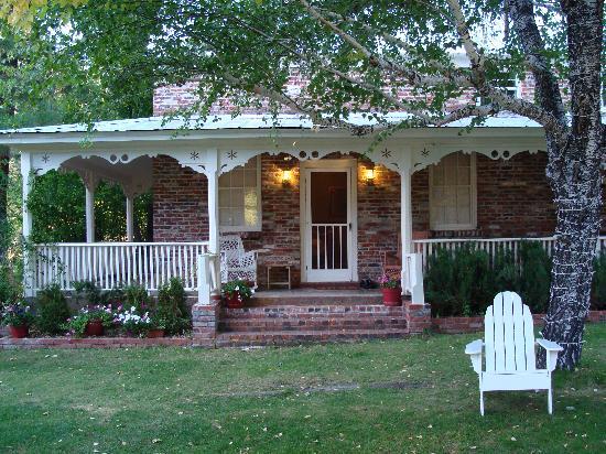 Porch of the Twenty Mile House Inn
