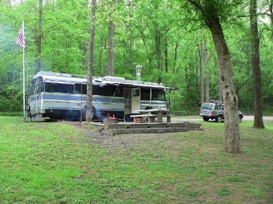 Houchins Ferry Campground: quiet