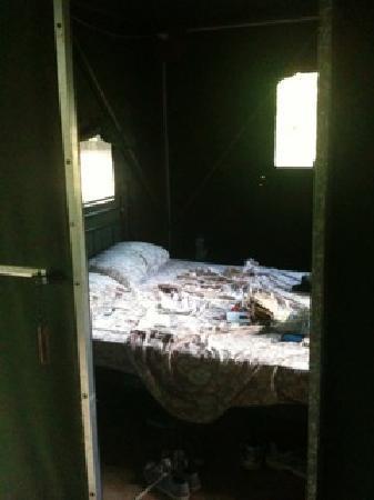 Cape Trib Camping: inside the safari tent