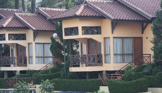 Karang Setra Hotel & Cottages: Villas
